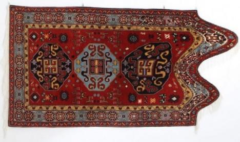 warped real twisted rug