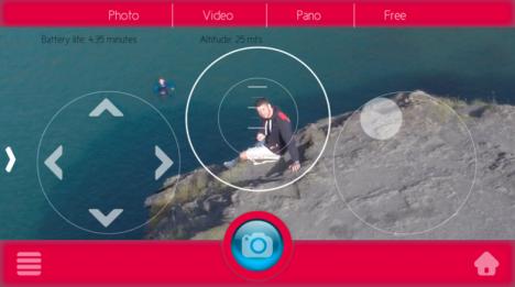 zano drone video camera