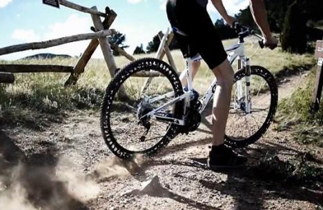 airless bike tire design