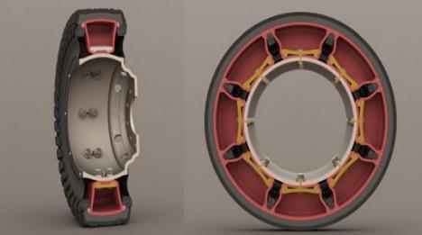 airless tire car version