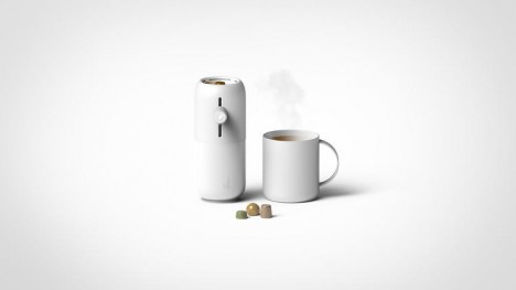 coffee pod system design