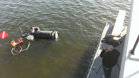 18-Year-Old Builds DIY Submarine from Drainpipe for $1K