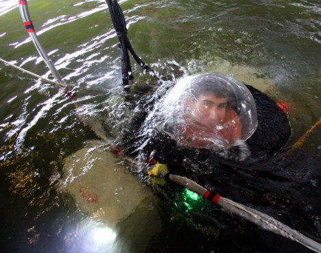 diy sub in water