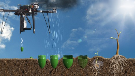 drone based reforestation