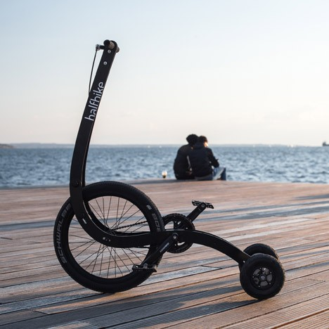 693a331d62a Halfbike: Standing Bike for Best of Both Walking & Cycling | Gadgets ...