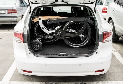 half bike trunk