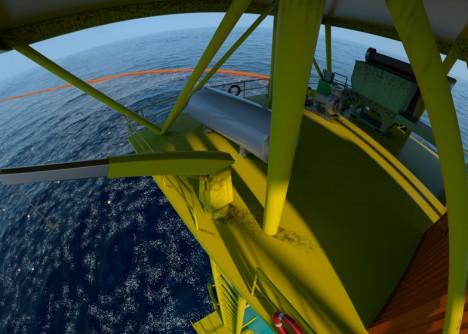 ocean tower closeup detail
