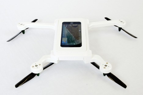 phone drone quadcopter shell