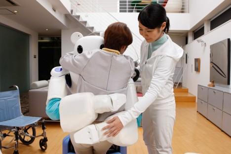 robot bear hug