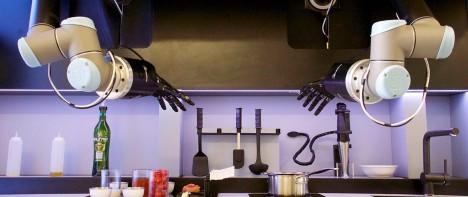 robotic cooking hands design