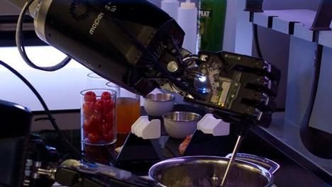 robotic kitchen hands