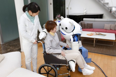 robotic wheelchair assist bear