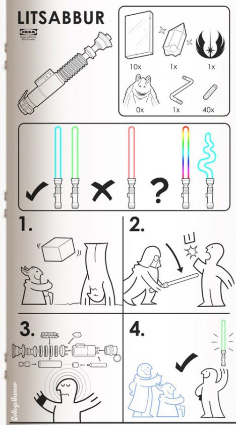 scifi manual lightsaber diy