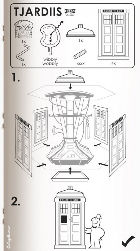scifi manual tardis diy