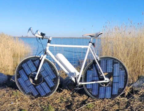 solar electric bike design