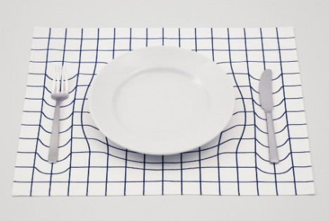 spacetime einstein inspired tableware