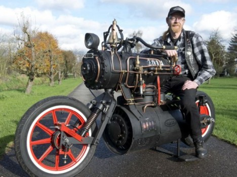 steam engine bike system