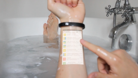 wearable bracelet smart phone