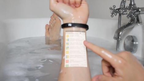 wearable bracelet smart phone