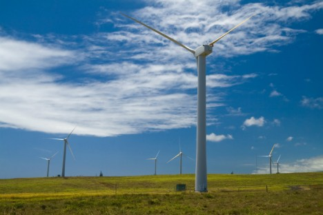 hawaii wind turbine farm