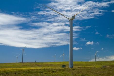 hawaii wind turbine farm