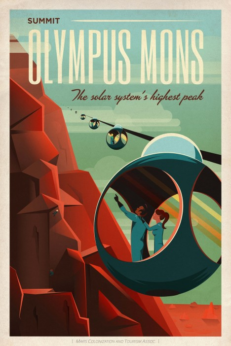 spacex travel posters