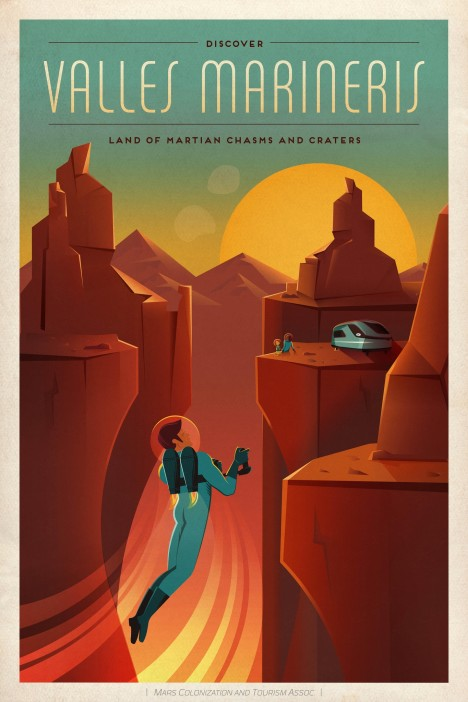 spacex valley of mars