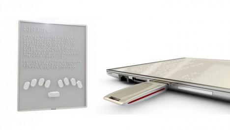 braille raised liquid tablet