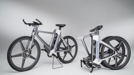 easily transportable ford ebike