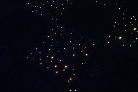 Bathroom Up Light fiber optic floor: diy stars light up bathroom at night | gadgets