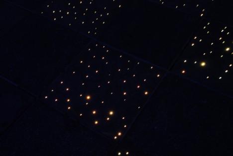 fiber optic tiles