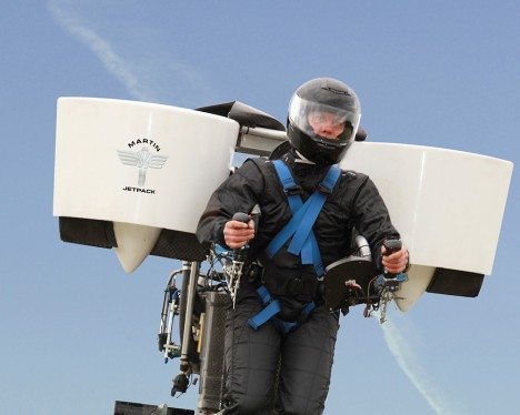 personal jetpack prototype test