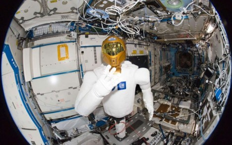 robonaut in space