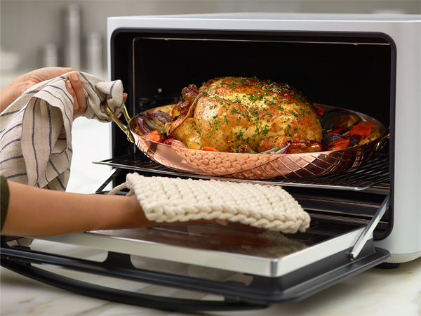 this smart countertop oven is the best new thing in cooking gadgets science technology. Black Bedroom Furniture Sets. Home Design Ideas