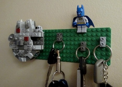 lego geek key wall
