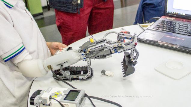 prosthetic diy limb lego