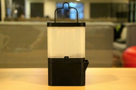 salt lamp powered by saltwater