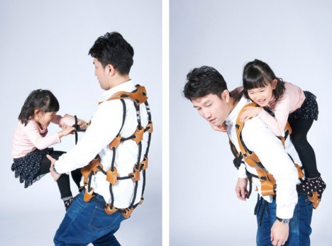 wearable climbing kids gym