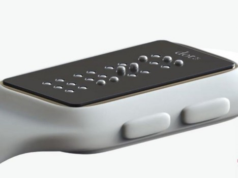 braille dot smartwatch
