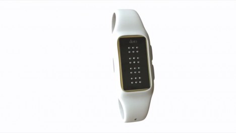 braille smart watch device