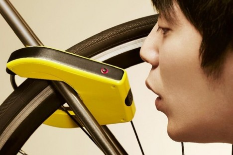 breathalyzer bike lock
