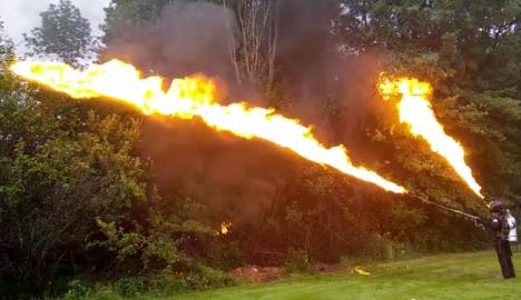 flame thrower xmatter llc