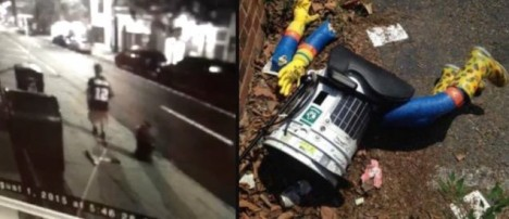hitchbot destroyed