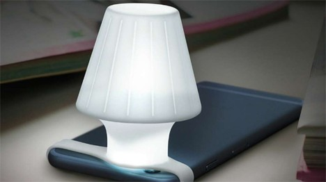 iphone flashlight lamp