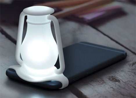 silicone nightlight for smartphones