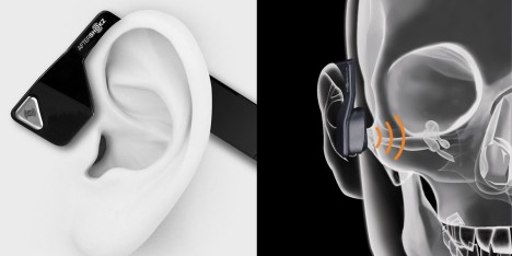 bone conduction audio mechanism