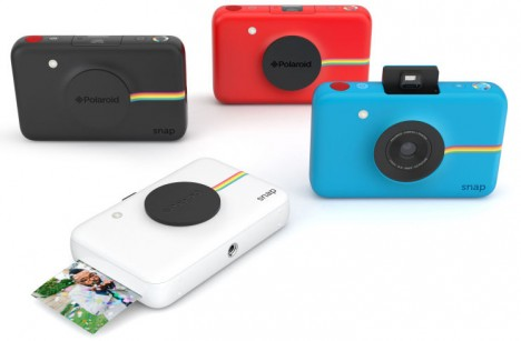 new polaroid inkless camera