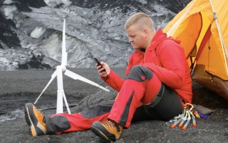 power wind turbine portable