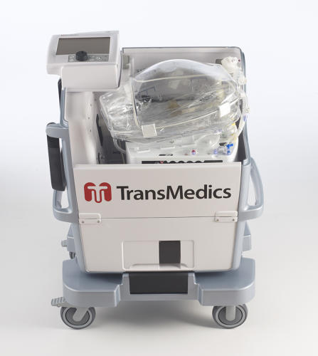 transmedics heart in a box machine