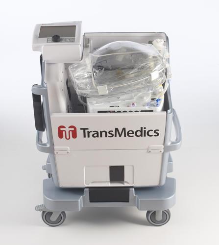 transmedics heart in a box machine